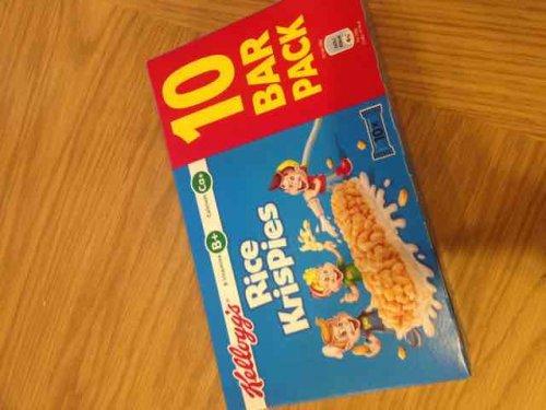 Rice Krispie  bars 10pk £1.00 @ heron