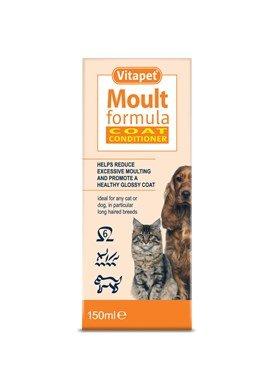 Vitapet Dog Moult Condtioner 150ml - half price £1.75 (Wilkinsons instore)