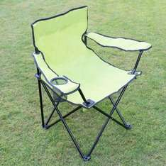 Folding Armchair with Cup Holder Only £1.99 At BM Stores