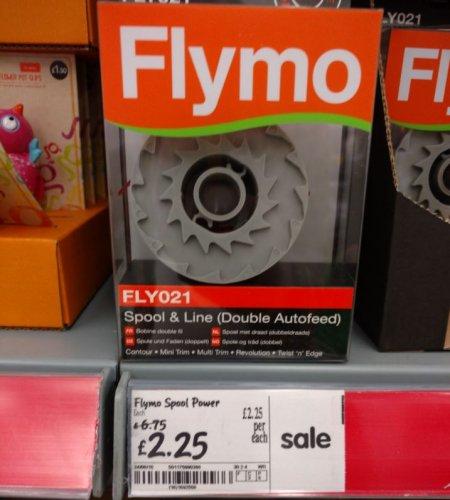 Flymo Spool & Line £2.25 @ Asda Basildon