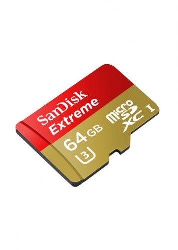 SanDisk Extreme 90MBs MicroSD 4K Ready u-3 Memory Card -64 gb £18.99 @ Base.com