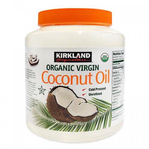 coconut oil 2.38kg £15.99 at Costco