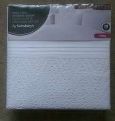 Instore Sainburys duvet covers reduced to clear. £12.50