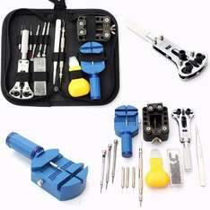 BABAN 30Pcs Professional Watch Opener Remover Wrench Watchmaker Repair Tool Kit w/Case £9.89 Prime / £14.64 Non Prime. Sold by Lerpby and Fulfilled by Amazon.