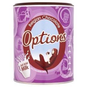 Options Belgian chocolate (276g) was £2.99 now £1.50 @ Waitrose