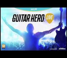 Guitar Hero Live Wii U / Xbox 360 at Argos for £20