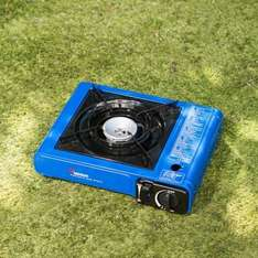 Camping gas stove for only £3.99 HOT DEAL!!! LITERALLY lol @ B&M