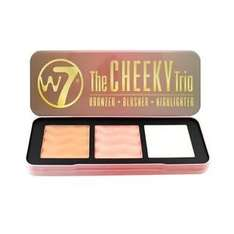 W7 The Cheeky Trio Blusher & Highlighter @ justmylooknet eBay