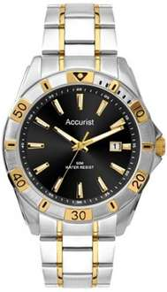 Accurist Men's Quartz Watch with Analogue Display and Stainless Steel Bracelet £26.12 @ Amazon