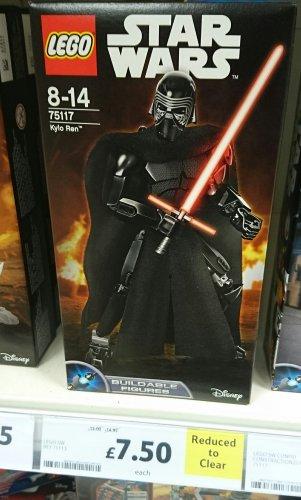 Lego Star Wars 75117 Kylo Ren - £7.50 instore at Tesco (~62.5% off RRP)