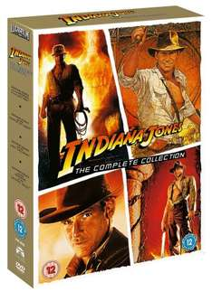Indiana Jones: The Ultimate Collection [DVD] - £9.99 (Prime) £11.98 (Non Prime) @ Amazon