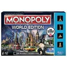 Monopoly Here & Now World Edition Game @ Tesco for £9.99 + £2 C&C