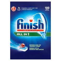 Finish All in One Dishwasher Tablets Original x 100 £9.50 Amazon S&S