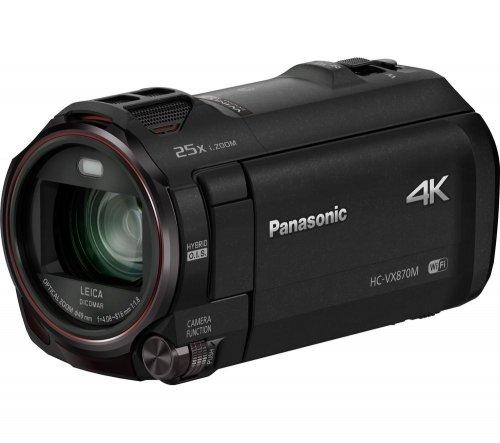 4K Panasonic VX870 £499 (£439 with cashback) @ currys
