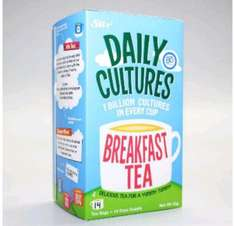 FREE sample of daily cultures delicious tea :)