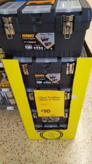 Mano toolbox £10 at Morrisons in store