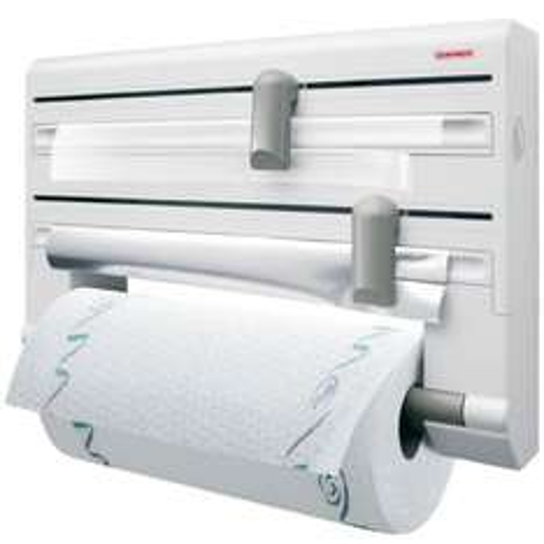 Leifheit 25703 Parat Kitchen Roll/Tin Foil/Cling Film Holder - White £13.84 (Prime) Or £17.83 (Non-Prime) Amazon