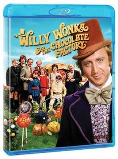 Willy Wonka and the Chocolate Factory Blu Ray at Music Magpie for £6.06 w/ code