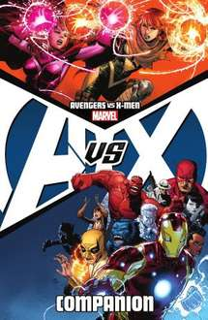 avengers vs xmen companion graphic novel on Google play for £7.64