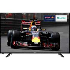 """hisense 50"""" 4K ultra HD  smart TV for £459 with code at AO"""