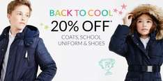 Debenhams free delivery and 20% off on back to school
