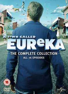 A Town Called Eureka: The Complete Collection Seasons 1-5 (Box Set) [DVD] £13.85 including free delivery using code RAK15OFF @ Zoom.co.uk
