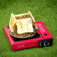 camping toaster reduced to 50p @ B&M