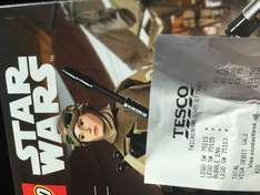 Lego Star Wars Rey build a figure £3.75 at Tesco Isleworth
