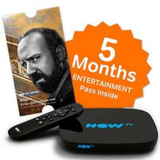NOW TV Smart TV Box with 5 Month Entertainment Pass £34.99 John Lewis - Free c&c