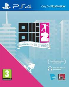 OlliOlli2 : Welcome to Olliwood (Pre-order) PS4 £12.85 @ ShopTo