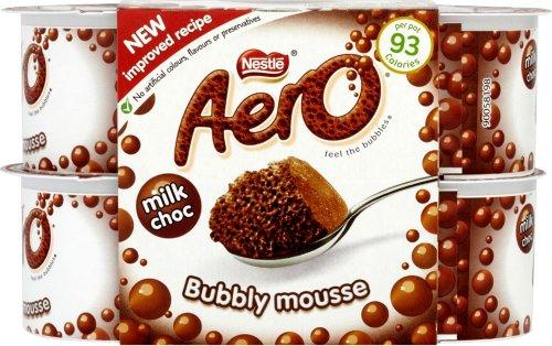 Nestle Aero Mousse - Milk Chocolate (4 x 59g) was £1.40 now 65p @ Tesco