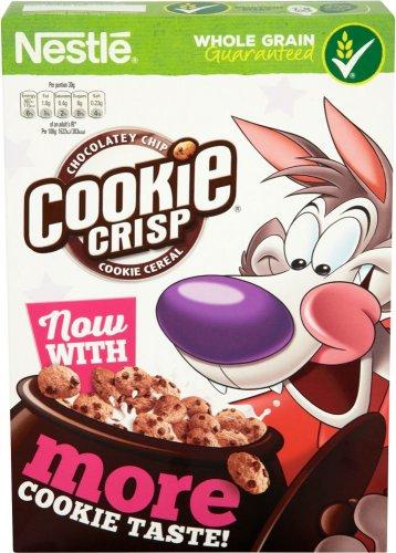 Nestle Cookie Crisp Cereal (375g) Half Price was £1.98 now 99p @ Tesco