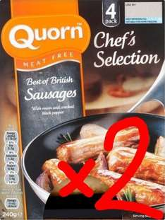 Quorn Chef's Selection Best of British Sausages, two 4-packs £2.00 (£1 each) @ Waitrose w/MyWaitrose card