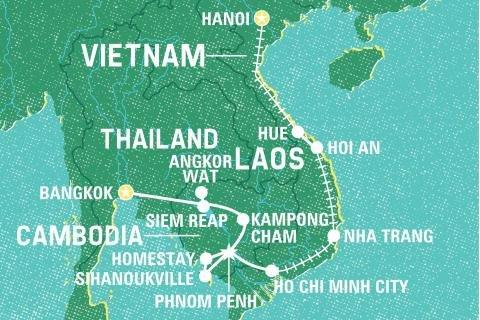 Nice Asia Tour, 22 days at £895 (3% cashback) - Geckos Adventures