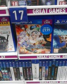Nitroplus Blasterz: Heroines Infinite Duel (PS4) £9.99 @ GAME