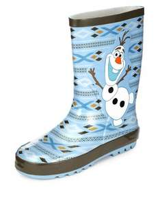 Kids' Disney Frozen Olaf Welly Boots now £2.39 C&C at Marks & Spencer (+ more items in comments)