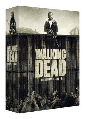Pre-order The Walking Dead: The Complete Season 1-6 £49.97 DVD / £69.97 Blu-ray Del @ Music Magpie