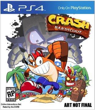 Crash Bandicoot: HD Remastered Trilogy (PS4) - £34.99 @ Base