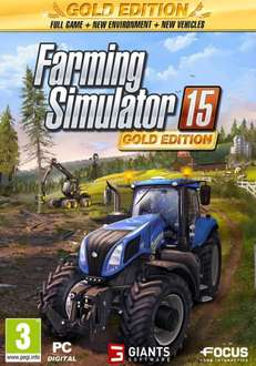 Farming Simulator Gold Edition PC Physical Copy £10 -  Smyths instore