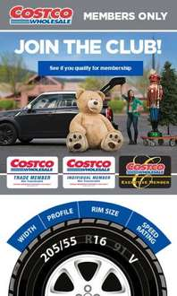Buy 2 or 4 Michelin tyres and claim up to £75 wholesale vouchers @ Costco