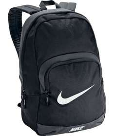 Nike Anthracite Backpack - Black £13.49 @ Argos