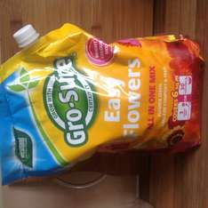 Gro - Sure Easy Flowers all in one mix 1.5Kg @ Tesco scanning £2.00 shelf price £7.00 online price £4.00