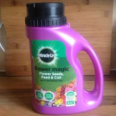 Miracle-Gro Flower Magic all in one flower mix 1Kg Tesco £3.00 was £12.00