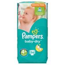 pampers baby dry size 4+ and 5+ £4.75 @ Tesco