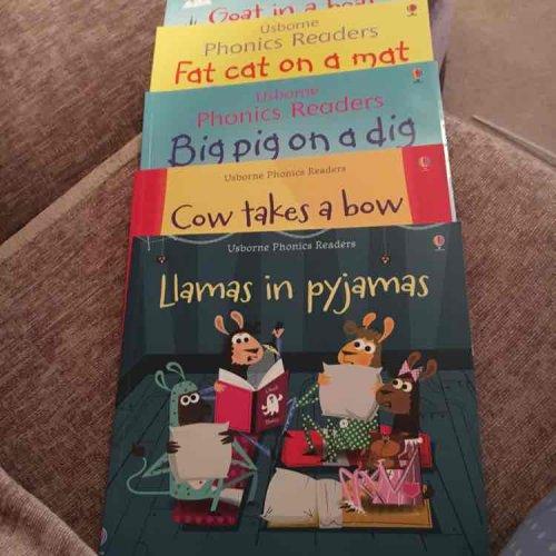 Usborne phonics readers books £1 @ Poundland, £4.99 RRP