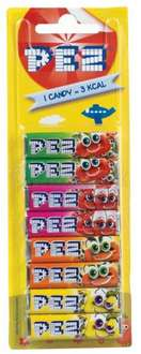 Pez refills - 8 pack. Were £1 now 50p instore @ Primark