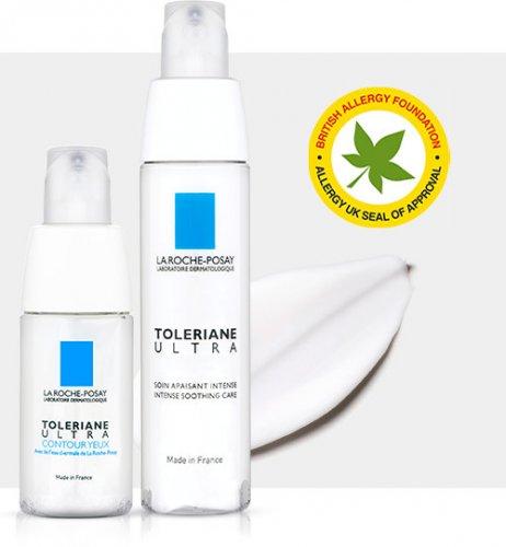 50,000 3ml Toleriane Ultra & 3ml Toleriane Ultra Eyes from Laroche Posay