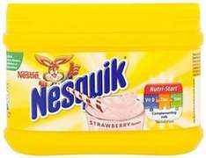 Nesquik Powder Strawberry 300 G (Pack of 10) £10.00 (Prime) / £14.65 (non Prime) @ Amazon