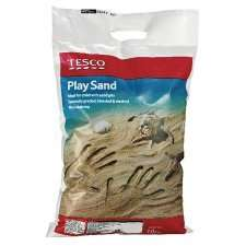 Tesco Outdoor Play Play Sand 10Kg 62p @ Tesco Groceries