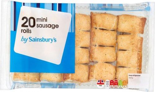 Sainsbury's Mini Sausage Rolls (20 per pack - 310g) was £2.00 now £1.00 @ Sainsbury's